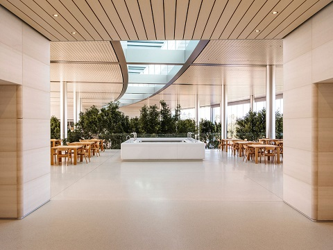 マルニ木工の「HIROSHIMA」がアップル新社屋に採用