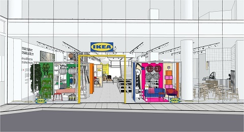 イケアが初の東京・都心型店舗「IKEA原宿」を4月にオープン