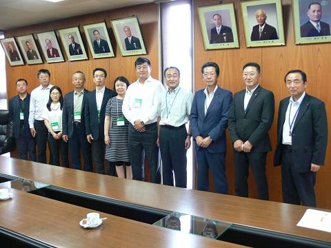 大連家具協会と㈿福岡・大川家具工業会との面談実施